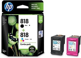 HP 818 Combo Tri-Color Ink Cartridge