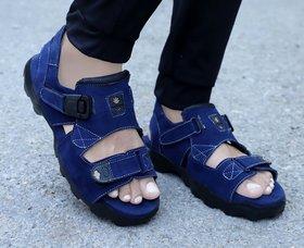 Way Beach Blue Outdoor,Comfortable Men's Sandals