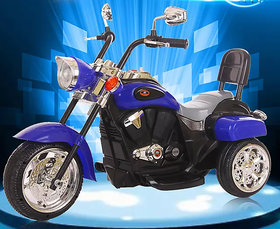 3-Wheel Special Battery Operated Ride On Bullet Bike With MusicHornHeadlightsBack Sport And 25 kg Weight Capacity