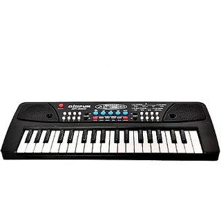 Bigfun BF-430A1 37 Keys Piano  (Black)