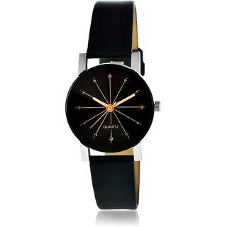 Tecita Black Round Dial Analog Watch For Women