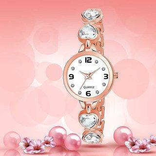 Tecita Blue Round Dial Analog Watch For Women