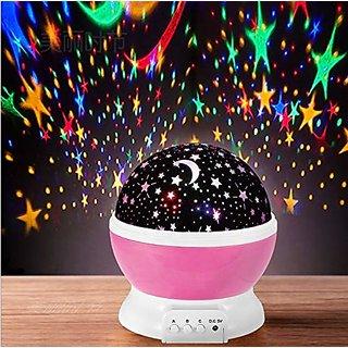 Night Light Star Master Romantic Starry Sky LED Projector Lamp for Children Gift Magic Home Atmosphere Lighting