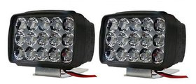 Love4Ride 2 Fog Lights Lamp with Switch For All Motorcycles 15 Led With ON/OFF Switch