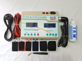HME Portable 4 in 1 IFT TENS MS With Ultrasonic 1mhz With Double LCD Machine