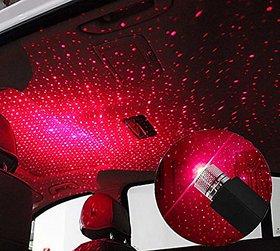Star decoration light Room Interior Lights LED Decorative Room roof Full Star Projection Laser car Interior