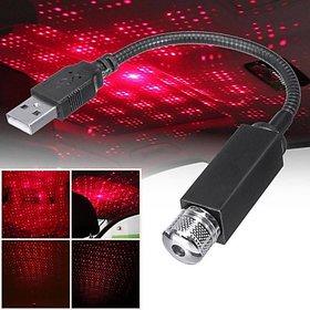 12V Star Decoration Night Light360 Degree Rotation Use for USB Night Light (Black)