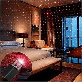 Car USB Star Ceiling Light Sky Projection Romantic Atmosphere Night Lights