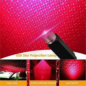 Plug and Play Car and Home Ceiling Romantic USB Night Light, Star Projector Night Light,