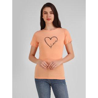 Jollify Women's Stylish Printed T-shirt