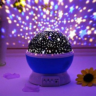 Star Master Night Light Projector Children Kids Baby Sleep Lighting USB Lamp Led Projection