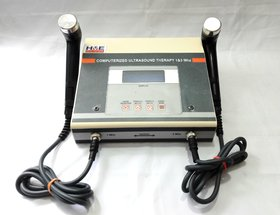HME LCD Ultrasound 1  3mhz Physiotherapy Machine For Pain Relief ( metal body )