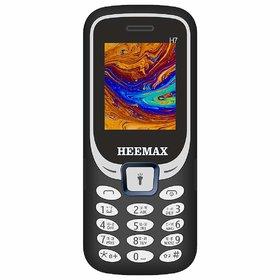 HEEMAX H7 (Dual Sim, 1.8 Inch Display, 1000 Mah Battery, 1 Year Warranty, Made in India)