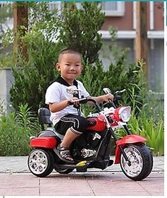 oh baby  3-Wheel Special Battery Operated Ride On Bullet Bike And 25 kg Weight Capacity for your kids