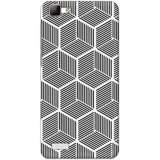Digimate Latest Design High Quality Printed Designer Soft TPU Back Case Cover For VivoV1