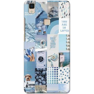 Digimate Latest Design High Quality Printed Designer Soft TPU Back Case Cover For VivoV3Max