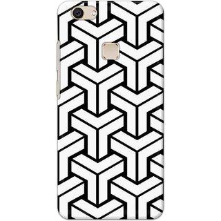 Digimate Latest Design High Quality Printed Designer Soft TPU Back Case Cover For VivoV7Plus
