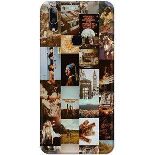 Digimate Latest Design High Quality Printed Designer Soft TPU Back Case Cover For VivoV9Youth