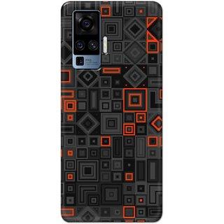 Digimate Latest Design High Quality Printed Designer Soft TPU Back Case Cover For VivoX50Pro