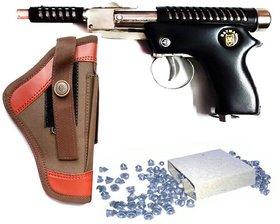 JGG METAL AIR GUN FREE 200 PELLETS AND 1 COVER