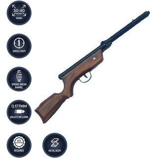 JGG AIR RIFLE SHOOTING GUN FREE 500 PELLETS (64CM)