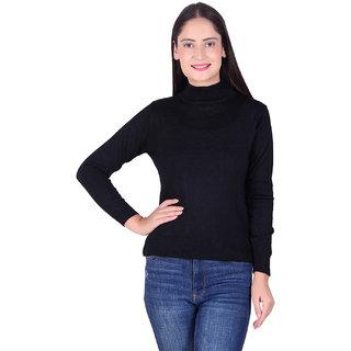 Ogarti woollen High neck Black Colour sweater