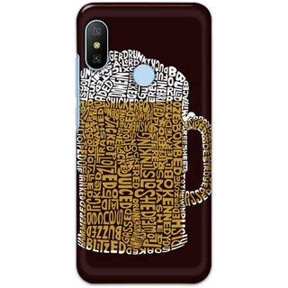 Digimate Hard Matte Printed Designer Cover Case For XiaomiMiA2