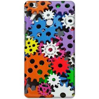 Digimate Hard Matte Printed Designer Cover Case For XiaomiMiMaxPrime