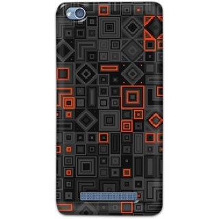Digimate Hard Matte Printed Designer Cover Case For XiaomiRedmi4A