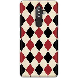 Digimate Hard Matte Printed Designer Cover Case For LenovoK8Plus