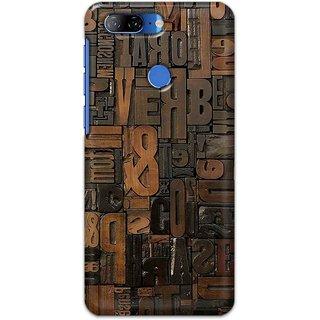 Digimate Hard Matte Printed Designer Cover Case For LenovoK9