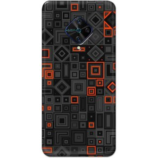 Digimate Hard Matte Printed Designer Cover Case For VivoS1Pro