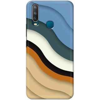 Digimate Hard Matte Printed Designer Cover Case For VivoU10