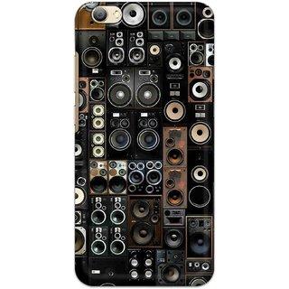 Digimate Hard Matte Printed Designer Cover Case For VivoV5s