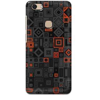 Digimate Hard Matte Printed Designer Cover Case For VivoV7