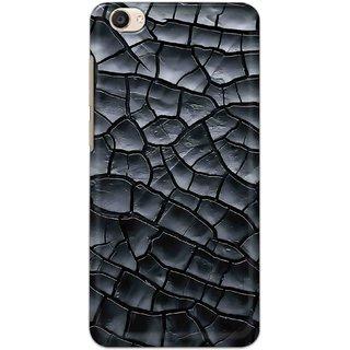 Digimate Hard Matte Printed Designer Cover Case For VivoY55