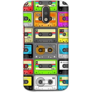 Digimate Hard Matte Printed Designer Cover Case For MotorolaMotoG4Plus