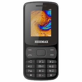 HEEMAX H8 (Dual Sim, 1.8 Inch Display, 1000 Mah Battery, 1 Year Warranty, Made in India)