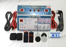 HME IFT + 1mhz UST + 2 ch TENS Combination Manual Machine ( 3 in 1 )