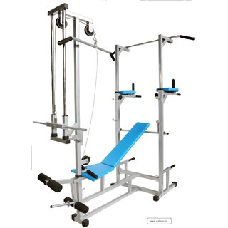 GoFiTPrO ABS Tower with Push UP DIPS and ABS Workout with 20 in 1 Bench (Main Frame 22)