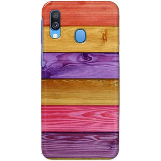 Digimate Hard Matte Printed Designer Cover Case For SamsungGalaxyA40