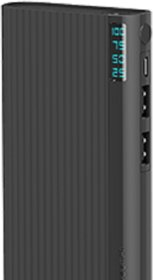 Refurbished INTEX 10000mAh Lithium-ion Power Bank/Fast Charging Power Bank 2 Output Power Bank Black