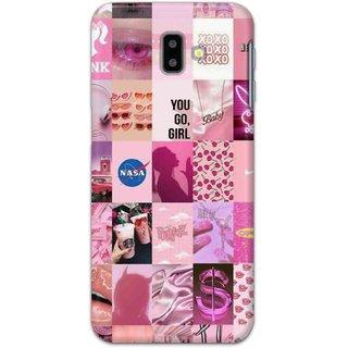 Digimate Hard Matte Printed Designer Cover Case For SamsungGalaxyJ6Plus