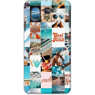 Digimate Hard Matte Printed Designer Cover Case For SamsungGalaxyJ7Prime2