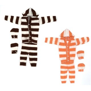 HLADINI Self Design V Neck Casual Baby Boys  Baby Girls COMBO SET