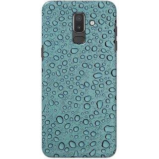 Digimate Hard Matte Printed Designer Cover Case For SamsungGalaxyJ8(2018)
