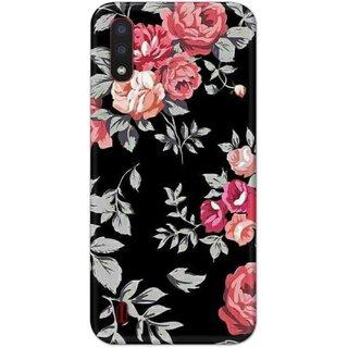 Digimate Hard Matte Printed Designer Cover Case For SamsungGalaxyM01