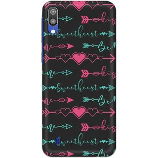 Digimate Hard Matte Printed Designer Cover Case For SamsungGalaxyM10