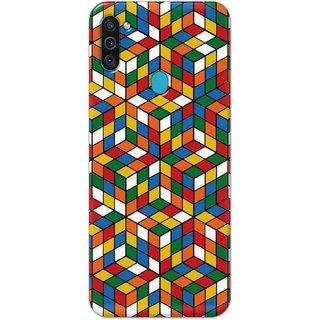 Digimate Hard Matte Printed Designer Cover Case For SamsungGalaxyM11