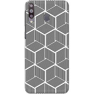 Digimate Hard Matte Printed Designer Cover Case For SamsungGalaxyM30